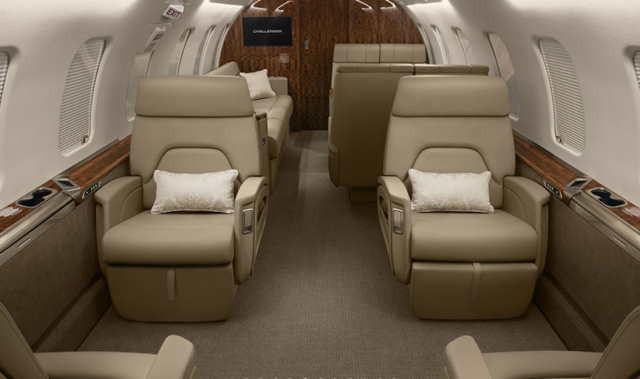 фото частного самолета Bombardier Challenger 650