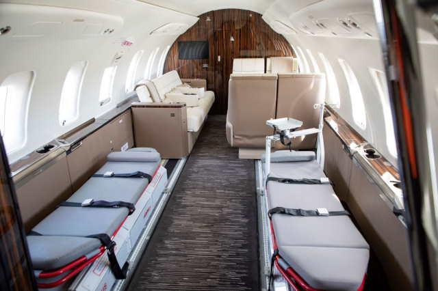 арендовать бизнес джет Bombardier Challenger 650