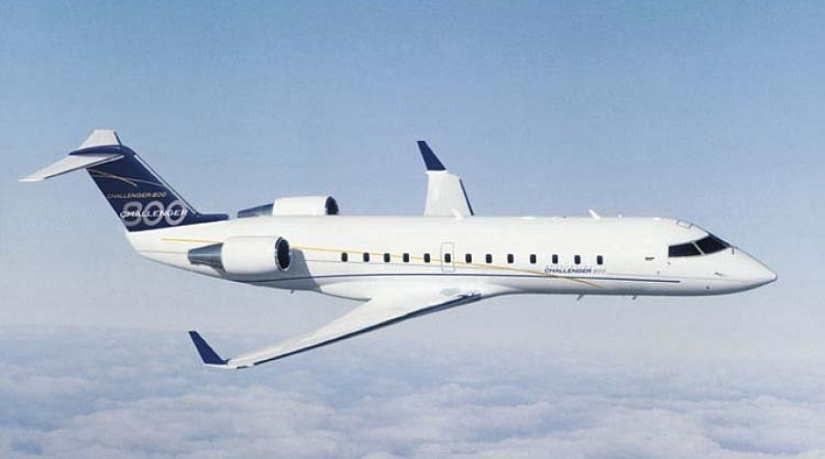 самолет Bombardier Challenger 800