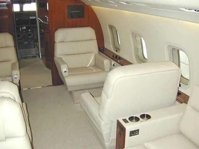 перелет самолетом Bombardier Challenger 800