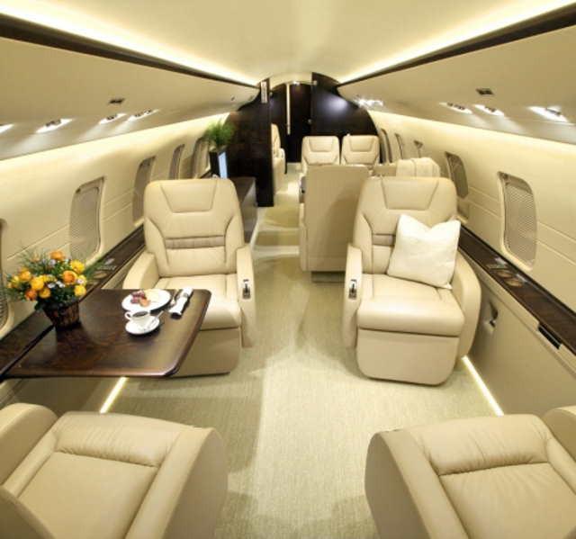 арендовать бизнес джет Bombardier Challenger 800