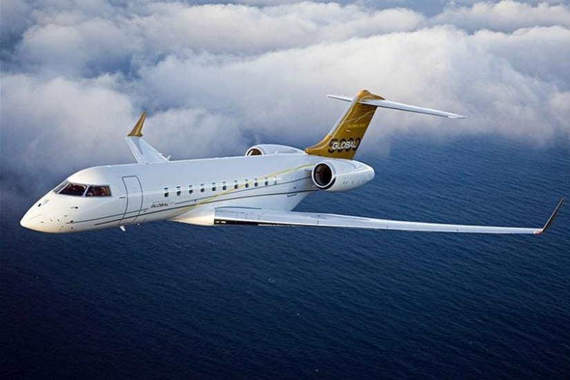 самолет Bombardier Global 5000