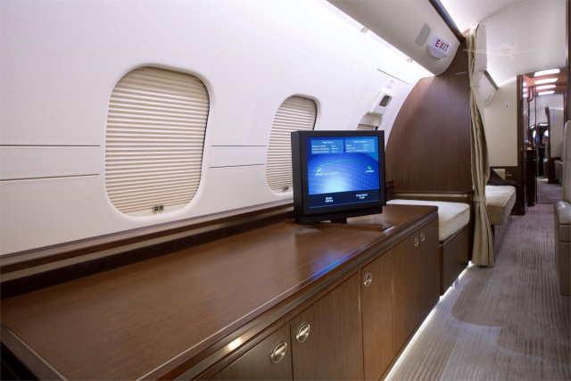 фото частного самолета Bombardier Global 5000