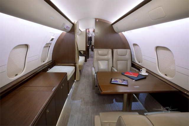 бизнес джет Bombardier Global 5000 в России