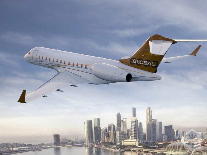 самолет Bombardier Global 6000