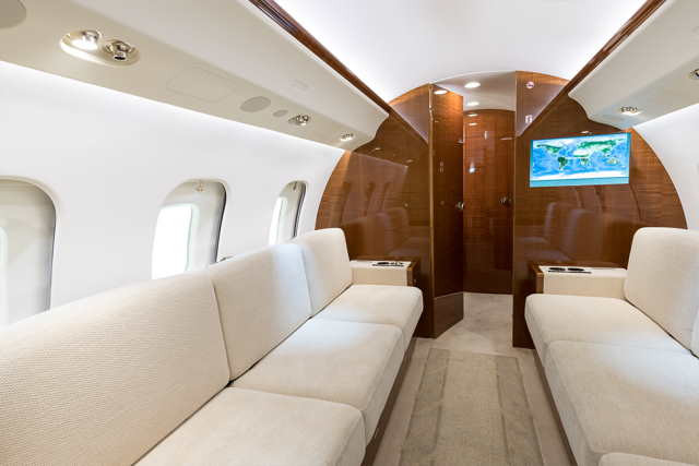 перелет самолетом Bombardier Global 6000