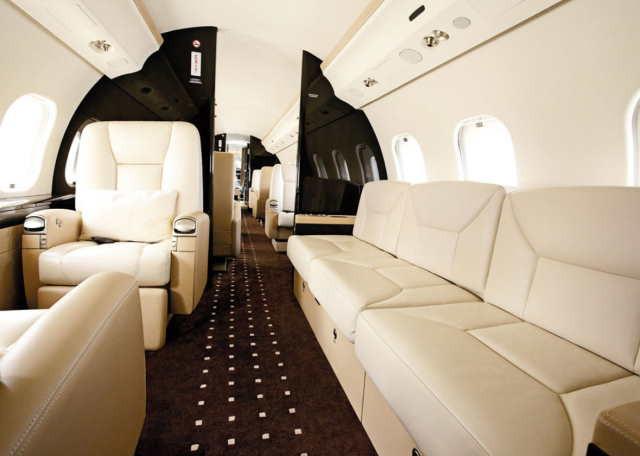 фото частного самолета Bombardier Global 6000