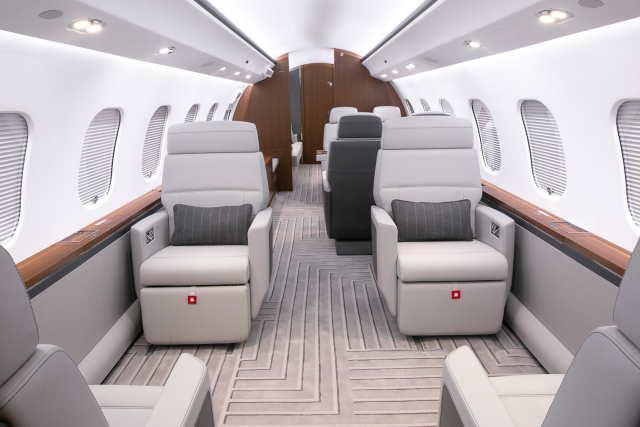 бизнес джет Bombardier Global 6000 в России