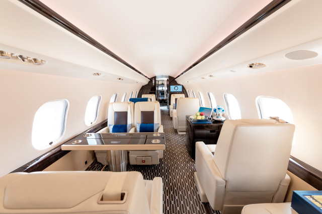 аренда самолета Bombardier Global 6000