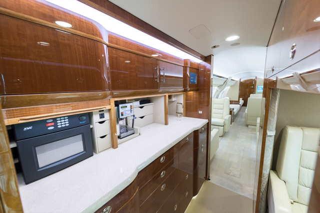 арендовать бизнес джет Bombardier Global 6000