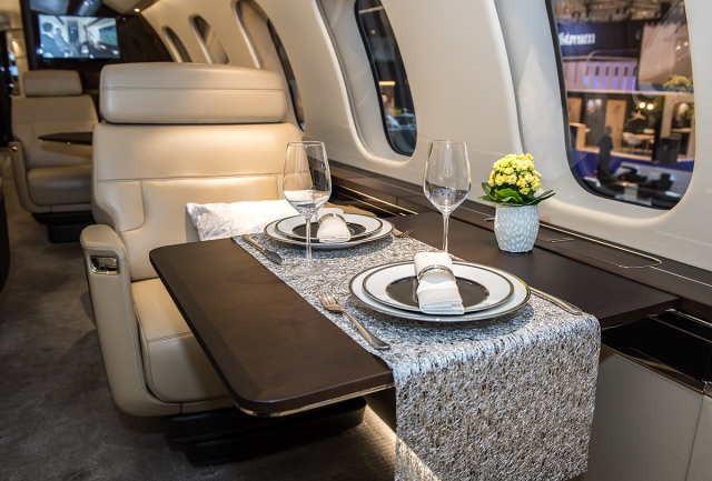 бизнес джет Bombardier Global 7000 в России