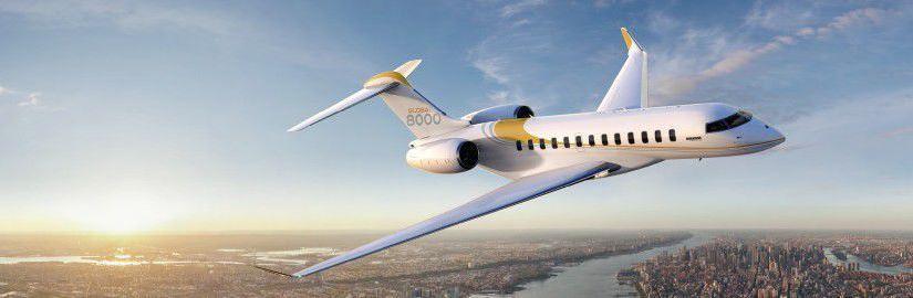 самолет Bombardier Global 8000