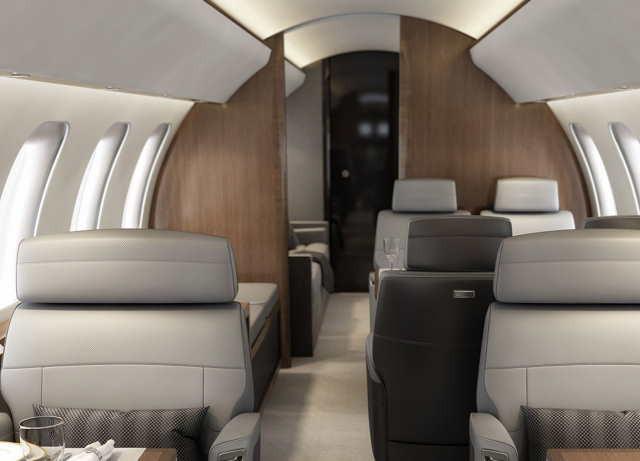 перелет самолетом Bombardier Global 8000