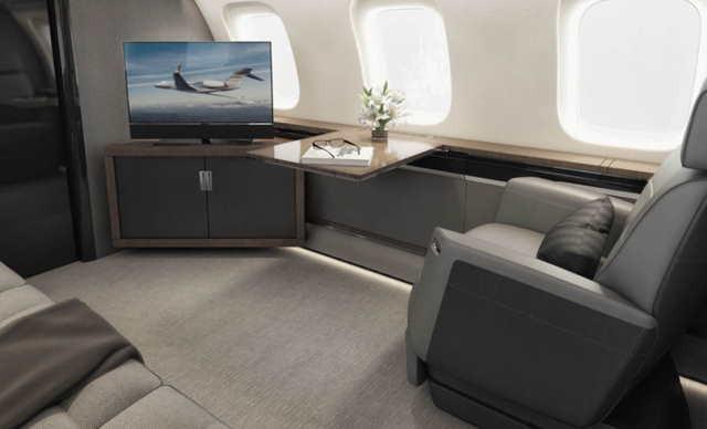 фото частного самолета Bombardier Global 8000
