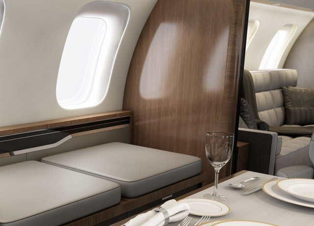 бизнес джет Bombardier Global 8000 в России