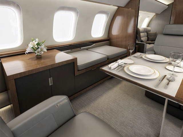 аренда самолета Bombardier Global 8000