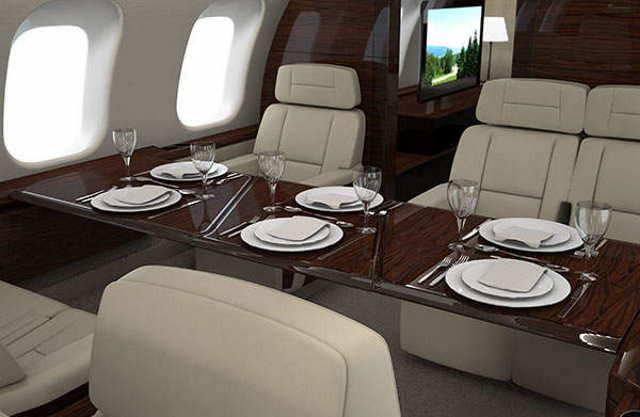 арендовать бизнес джет Bombardier Global 8000