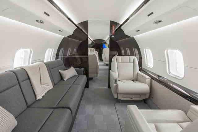 перелет самолетом Bombardier Global Express