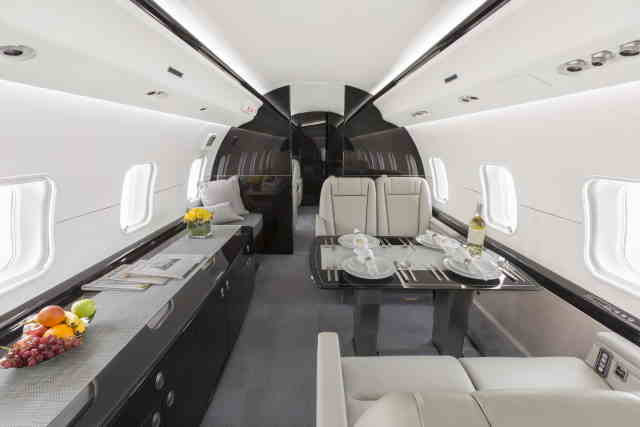 бизнес джет Bombardier Global Express в России
