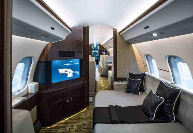 перелет самолетом Bombardier Global Express XRS