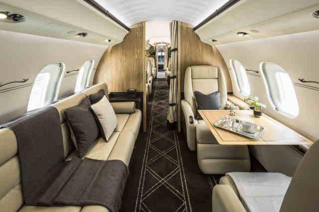 бизнес джет Bombardier Global Express XRS в России