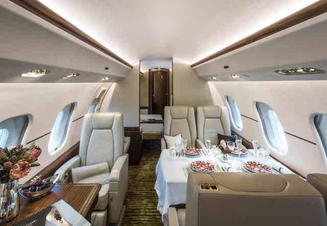 аренда самолета Bombardier Global Express XRS
