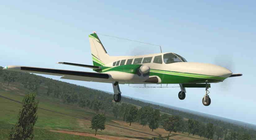 самолет Cessna 404