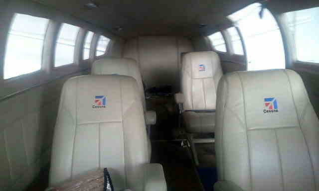 фото частного самолета Cessna 404