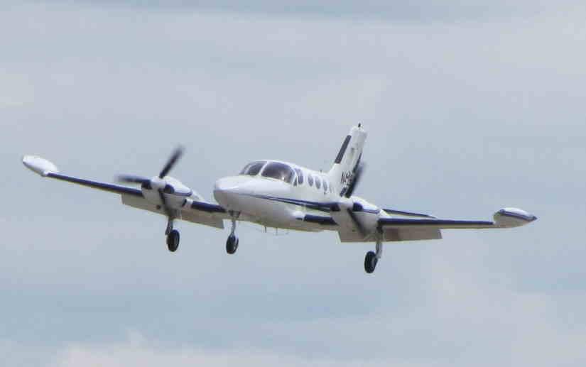 самолет Cessna 421 Golden Eagle