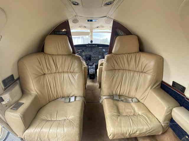 фото частного самолета Cessna Citation 501