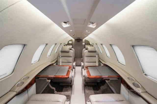 фото частного самолета Cessna Citation CJ2