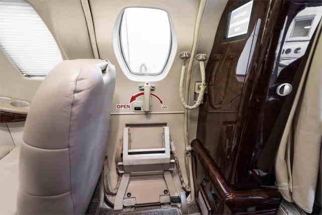 интерьер салона самолета Cessna Citation CJ2
