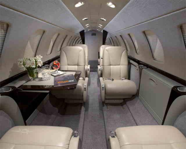 фото частного самолета Cessna Citation CJ3