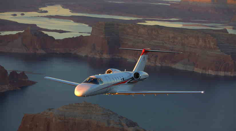 самолет Cessna Citation CJ4