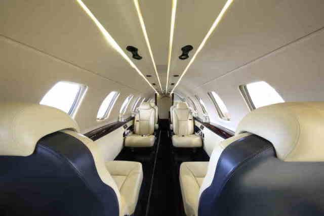 перелет самолетом Cessna Citation CJ4