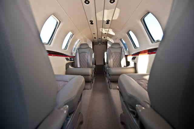 бизнес джет Cessna Citation CJ4 в России