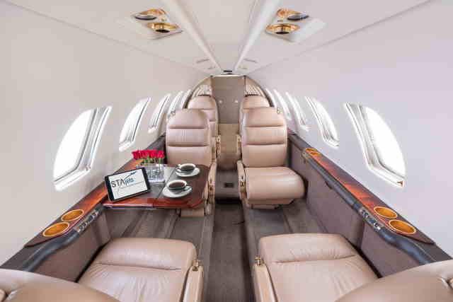 арендовать бизнес джет Cessna Citation Encore