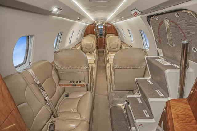 перелет самолетом Cessna Citation Excel