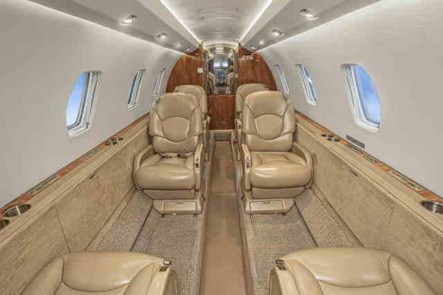 бизнес джет Cessna Citation Excel в России