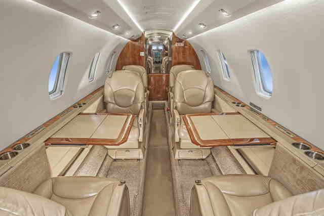 аренда самолета Cessna Citation Excel