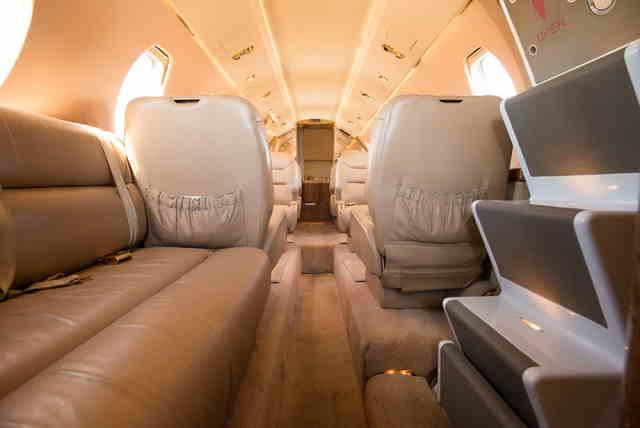 перелет самолетом Cessna Citation III