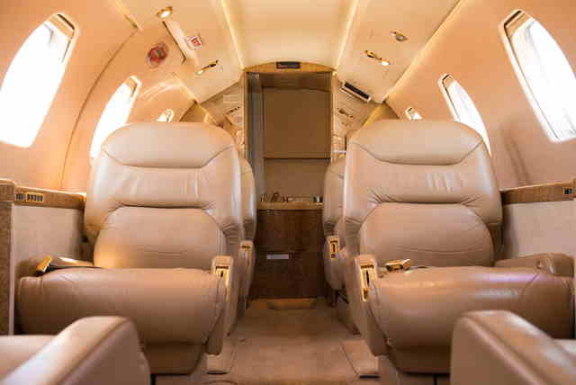 фото частного самолета Cessna Citation III
