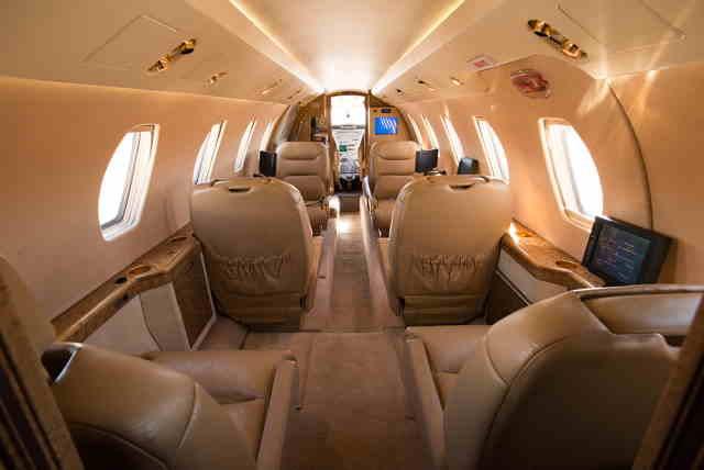 бизнес джет Cessna Citation III в России