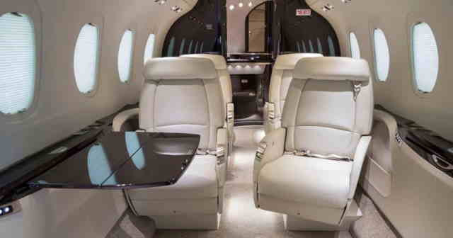перелет самолетом Cessna Citation Latitude
