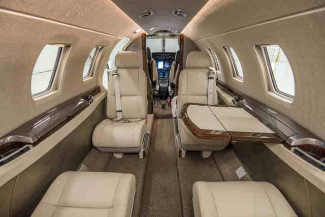 бизнес джет Cessna Citation M2 в России