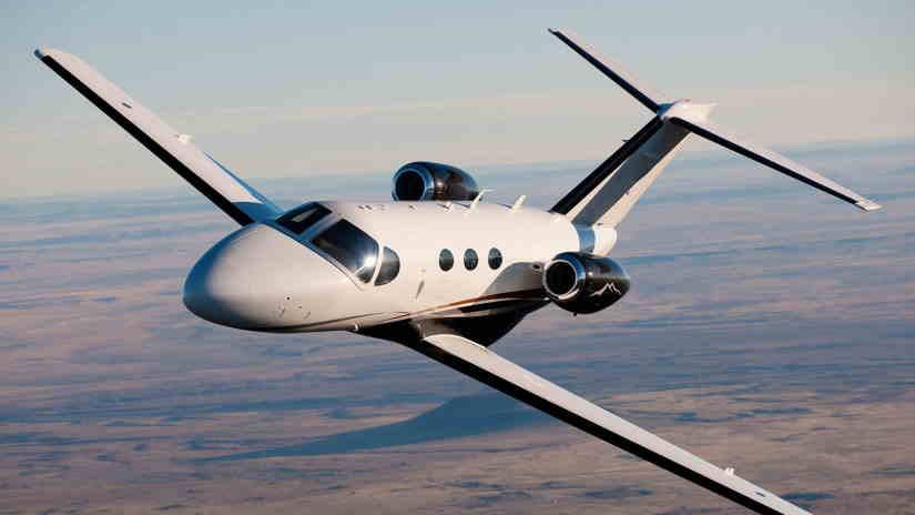 самолет Cessna Citation Mustang