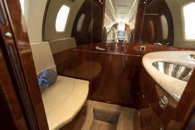 бизнес джет Cessna Citation Sovereign в России