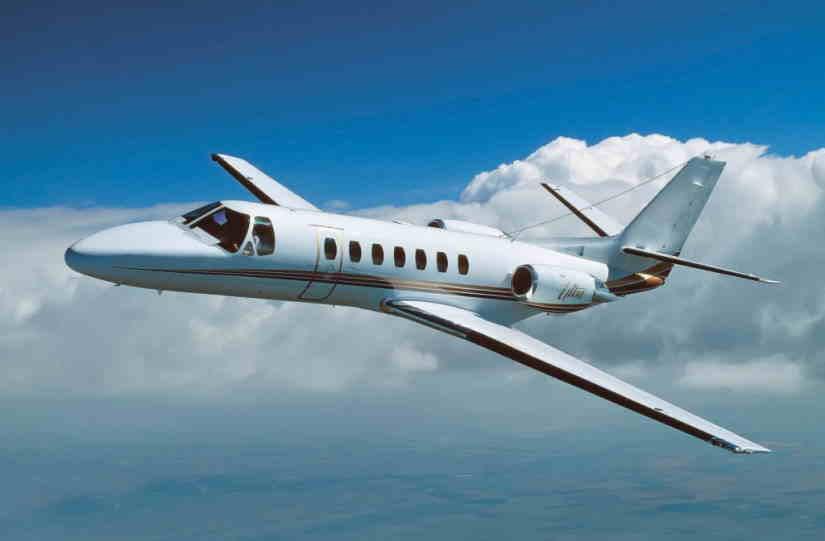самолет Cessna Citation Ultra