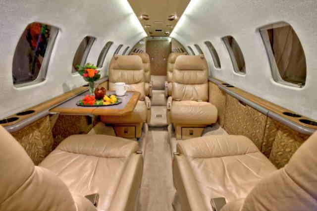 фото частного самолета Cessna Citation Ultra