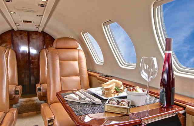 бизнес джет Cessna Citation V в России